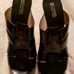 Michael Kors patent leather 4.5 inch heels